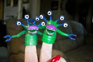 Perpetual Kid finger monsters