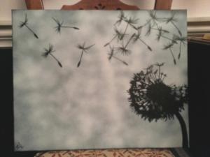 my dandelion!