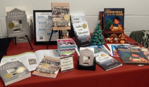 Gretchen's author table