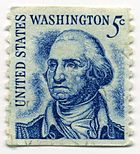 Stamp_US_1966_5c_Washington